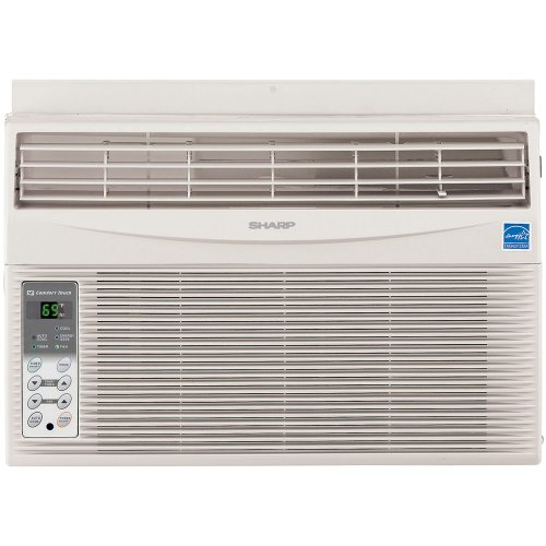 Sharp 80 sharp electronics afs80rx energy star 8 000 btu for 12 inch high window air conditioner