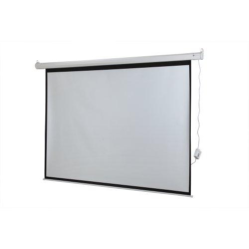 Homegear 100 Hd Motorized 4 3 Projector Screen W Remote